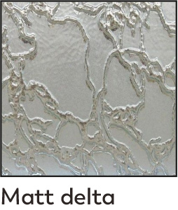 dekorfóliás beltéri ajtó - üveg 11