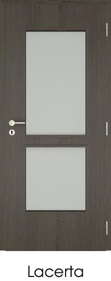 dekorfóliás beltéri ajtó - üvegezés 10