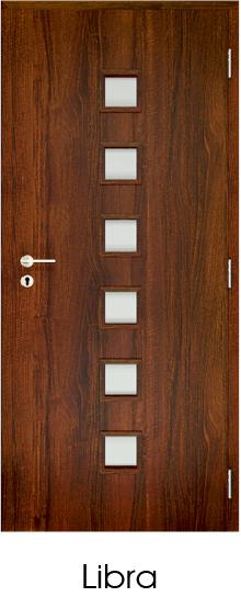 dekorfóliás beltéri ajtó - üvegezés 11