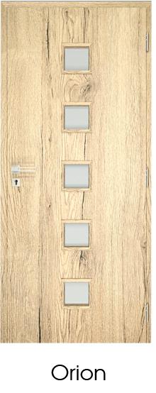 dekorfóliás beltéri ajtó - üvegezés 13