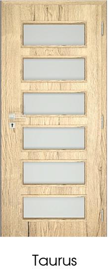 dekorfóliás beltéri ajtó - üvegezés 17