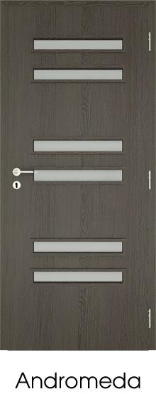dekorfóliás beltéri ajtó - üvegezés 1