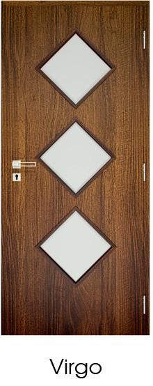 dekorfóliás beltéri ajtó - üvegezés 20