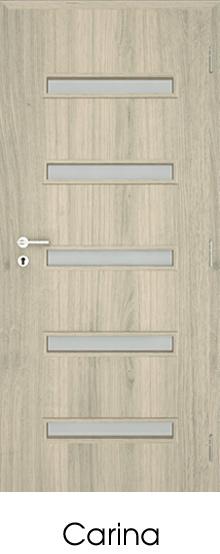 dekorfóliás beltéri ajtó - üvegezés 3