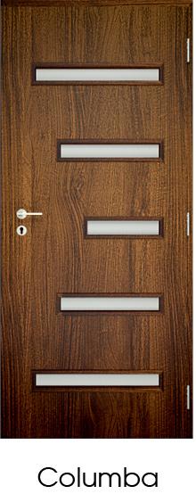 dekorfóliás beltéri ajtó - üvegezés 4