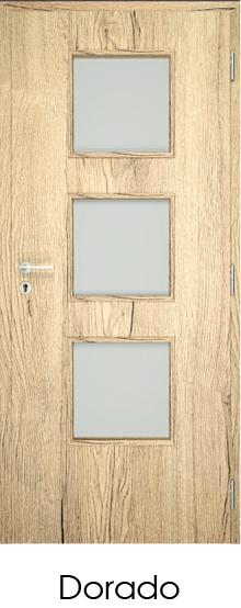dekorfóliás beltéri ajtó - üvegezés 5