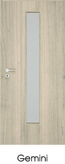 dekorfóliás beltéri ajtó - üvegezés 7