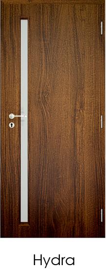 dekorfóliás beltéri ajtó - üvegezés 8