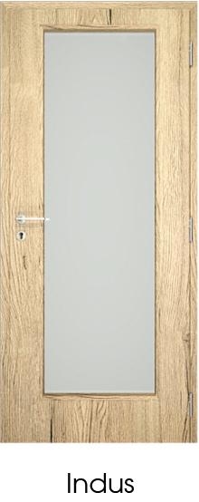 dekorfóliás beltéri ajtó - üvegezés 9